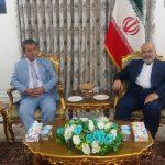 دیدار هانی فیصلی رییس اتاق بازرگانی خرمشهر با سرکنسول جمهوری اسلمی ایران در بصره