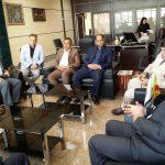 نشست مشترک اتاق بازرگانی خرمشهر با هیئت سرمایه گذاری بصره