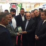 گزارش تصویری از راه اندازی پاویون اختصاصی اتاق بازرگانی خرمشهر در نمایشگاه صنعت ساختمان بغداد